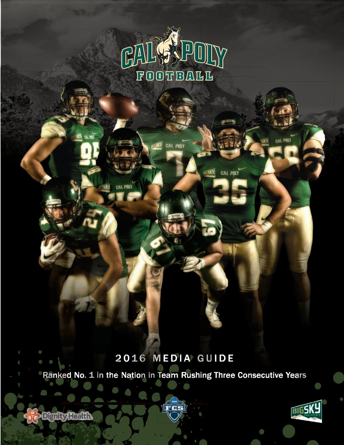 a3f21c061a8 2016 Cal Poly Football Media Guide by Cal Poly Athletics - issuu