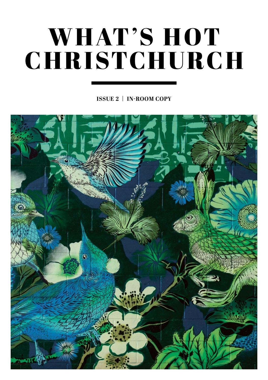 What\'s Hot Christchurch - Issue 2 by SOMO Creative - issuu