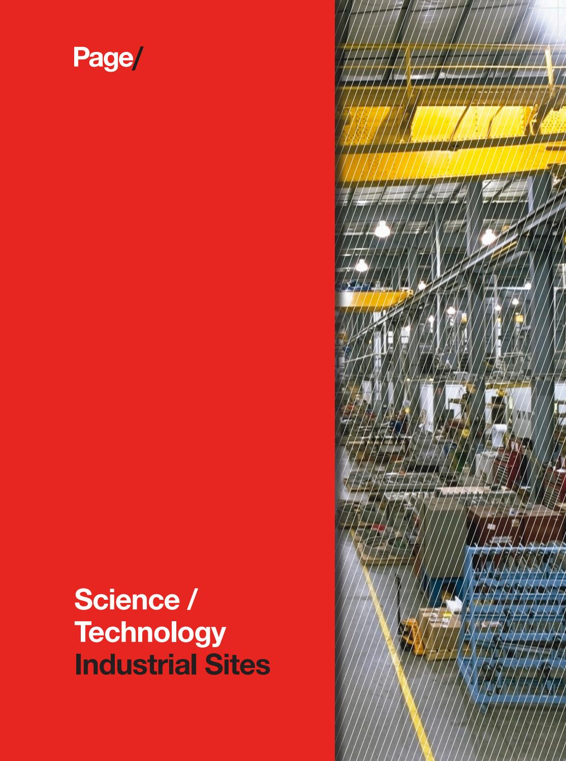 Science/Technology Industrial Sites by Page - issuu