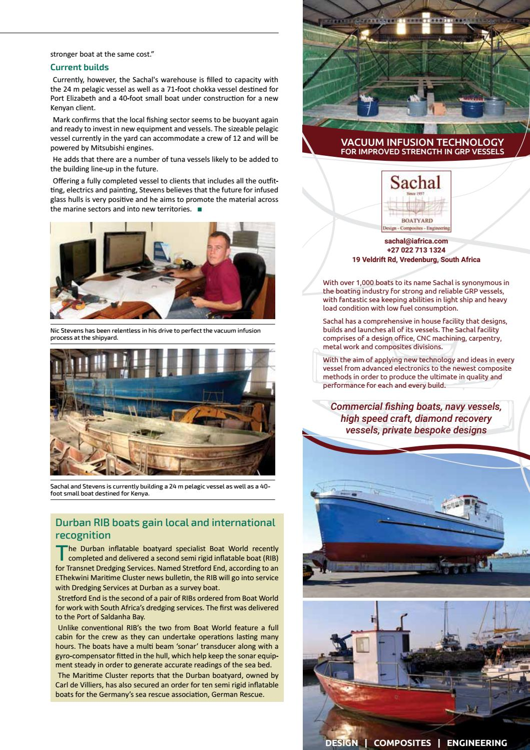 Maritime Review Africa JulyAugust 2016 by More Maximum Media