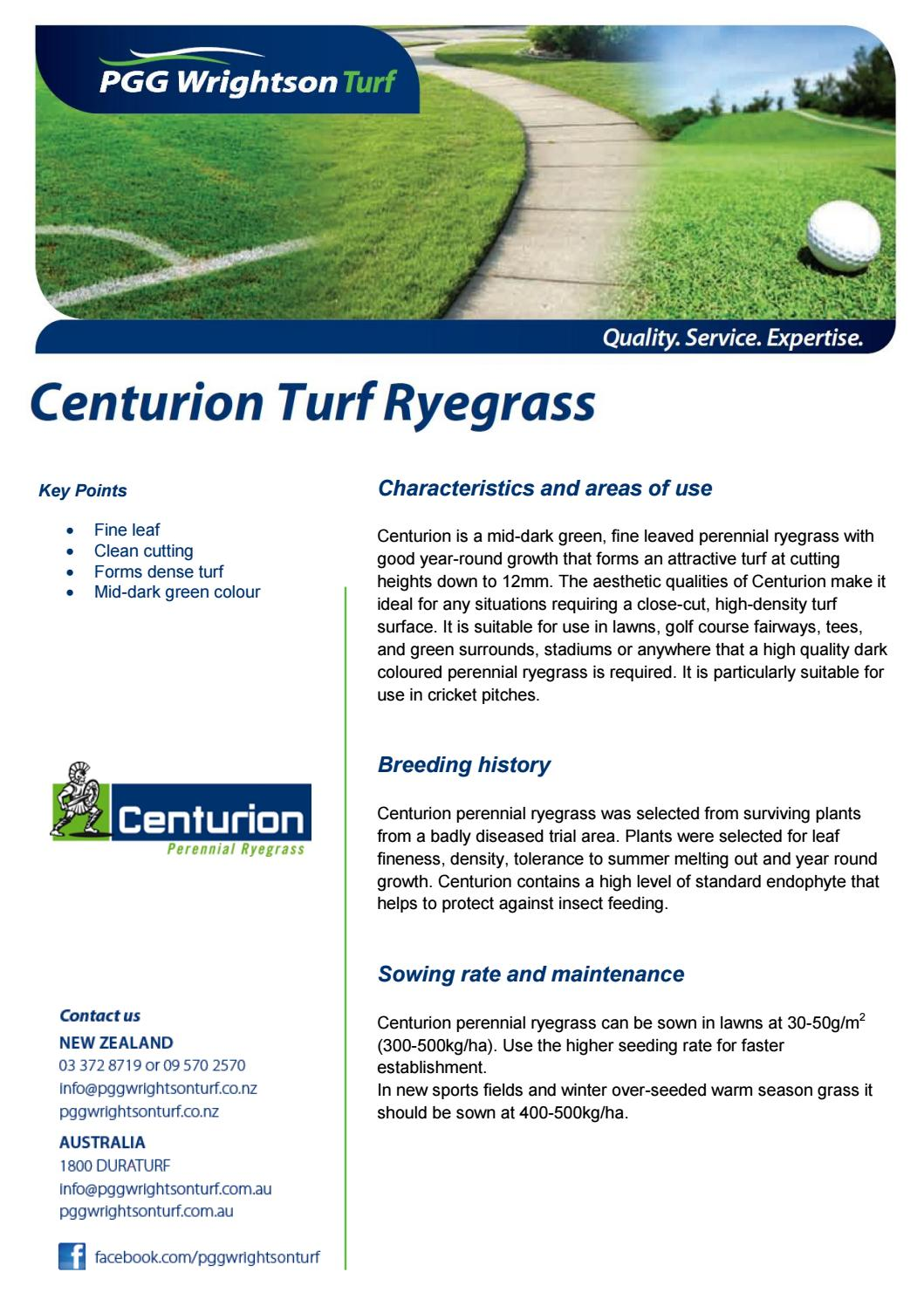 Assetsfilescenutrion by PGG Wrightson Turf - issuu