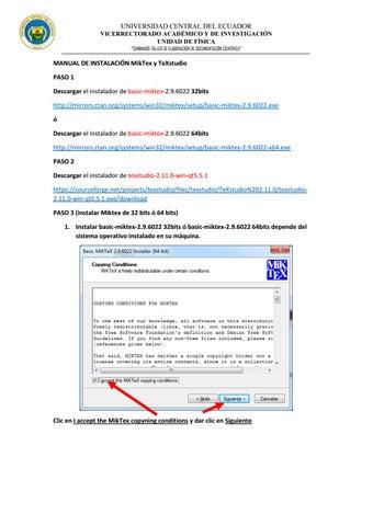 miktex pour windows 7 32 bits