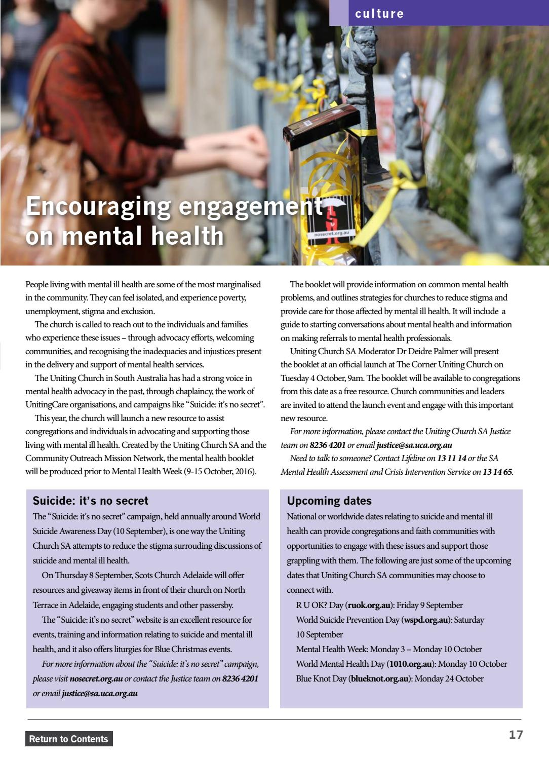 New Times August - September 2016 by Uniting Church SA - issuu