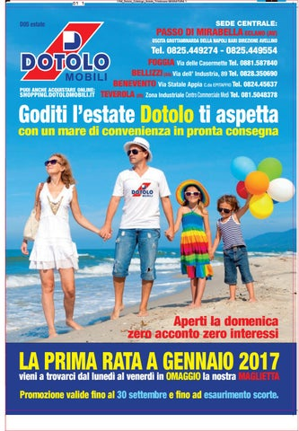Dotolo Catalogo Estate 2016 By Dotolo Mobili Issuu