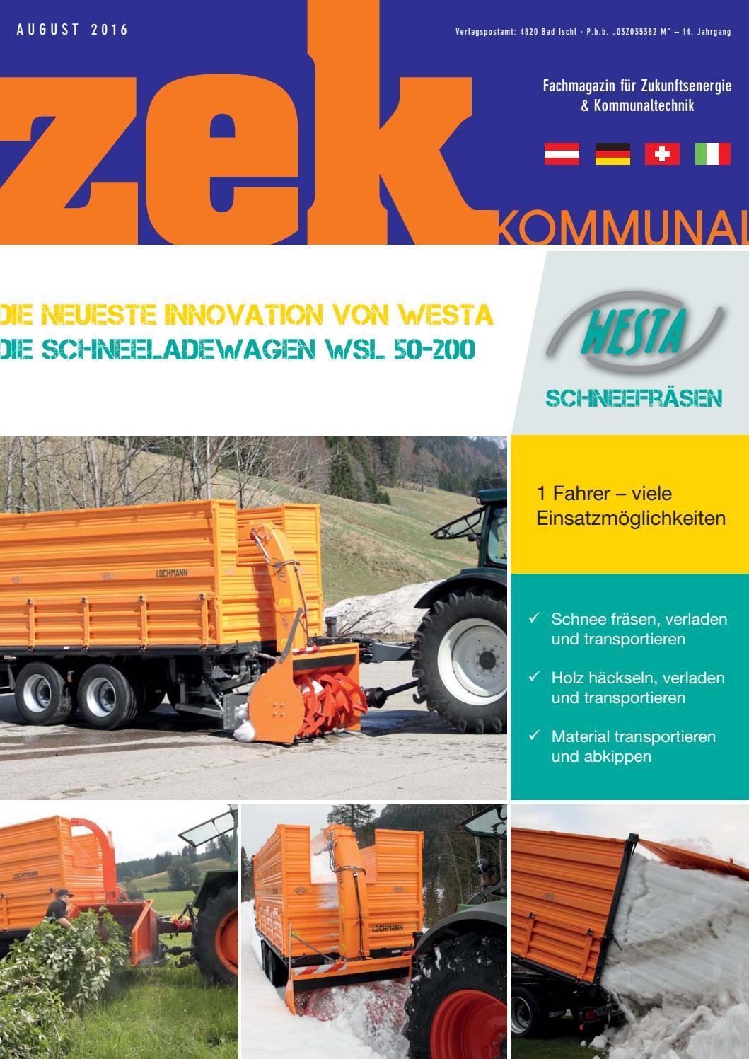 zek Kommunal - Ausgabe 3 - 2016 by zek Magazin - issuu