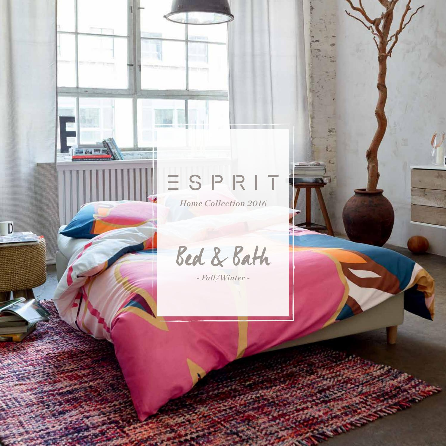 esprit home bed bath collection fall winter 2016 catalogue by essenza home issuu