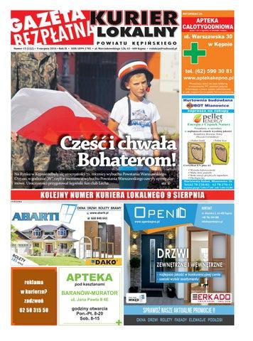 Gazeta Bezplatna Kurier Lokalny 222 By Kurier Lokalny