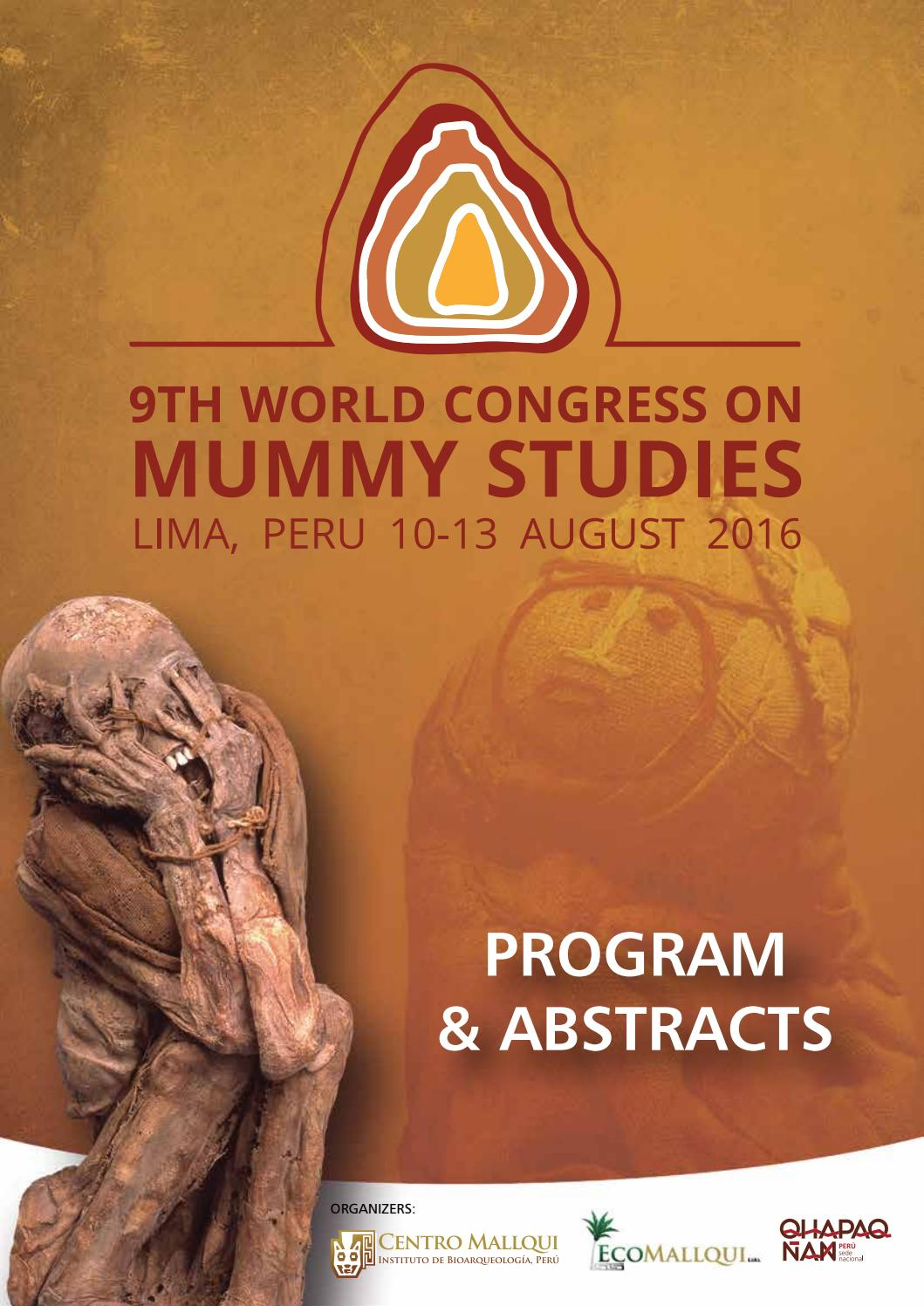 9th World Congress on Mummy Studies by mummy.congressperu - issuu