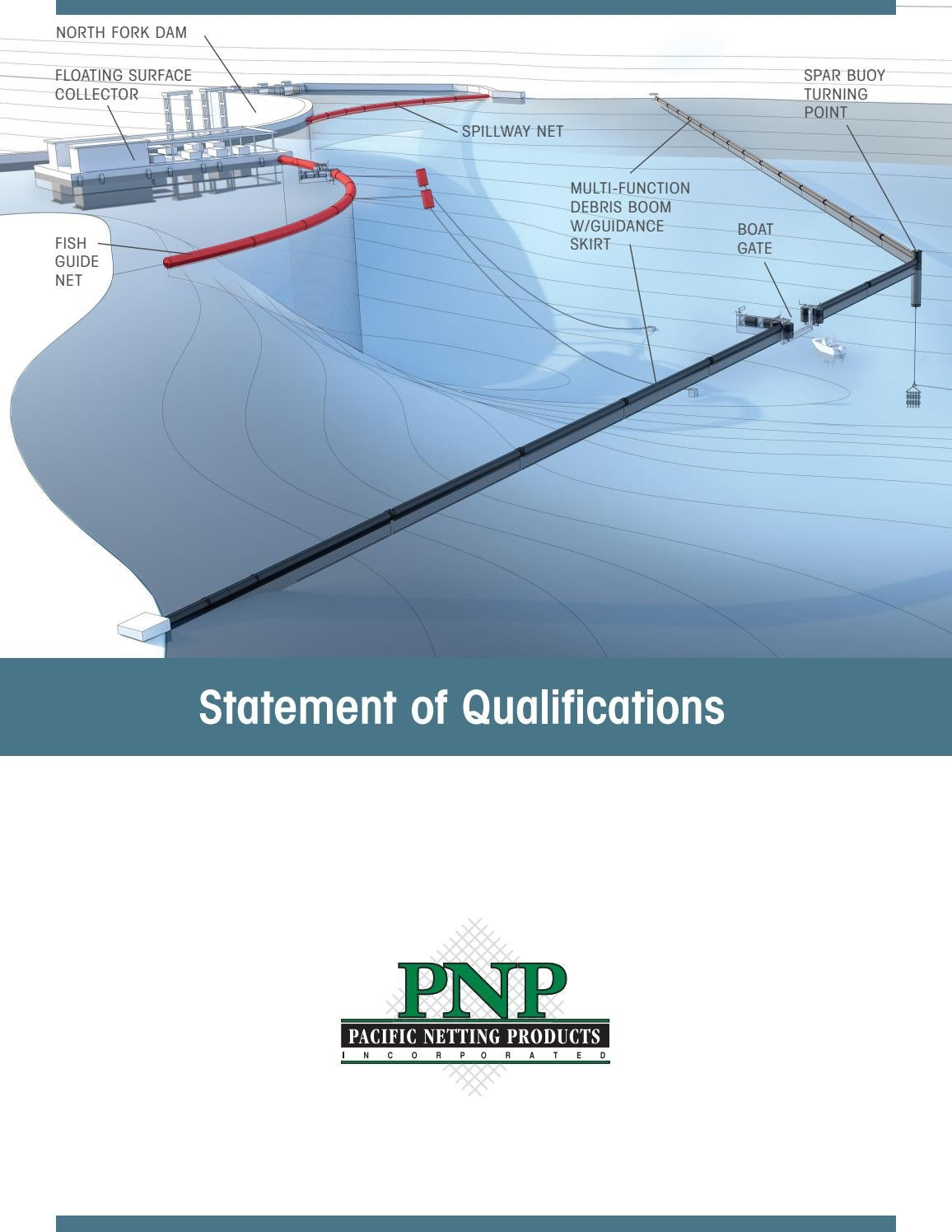 PNP Statement of Qualifications 24pg by Pacific Netting Products - issuu