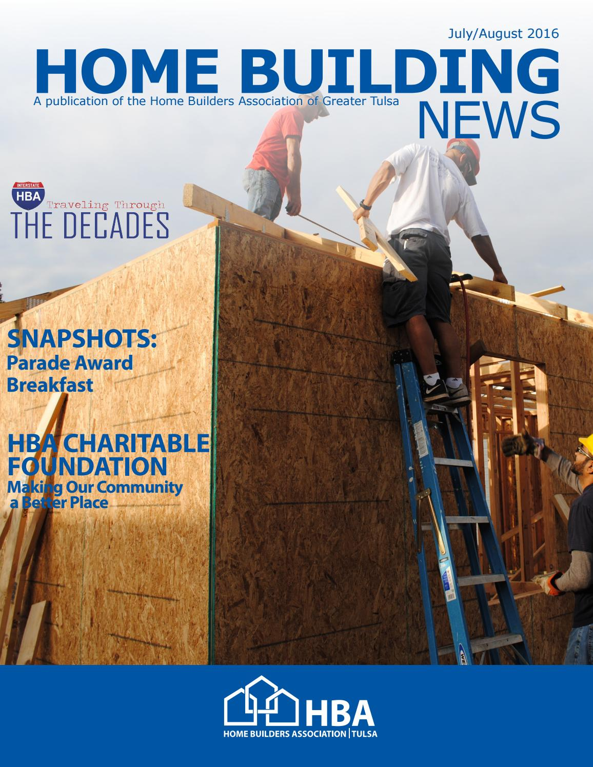 July August 2016 By Home Builders Association Of Greater