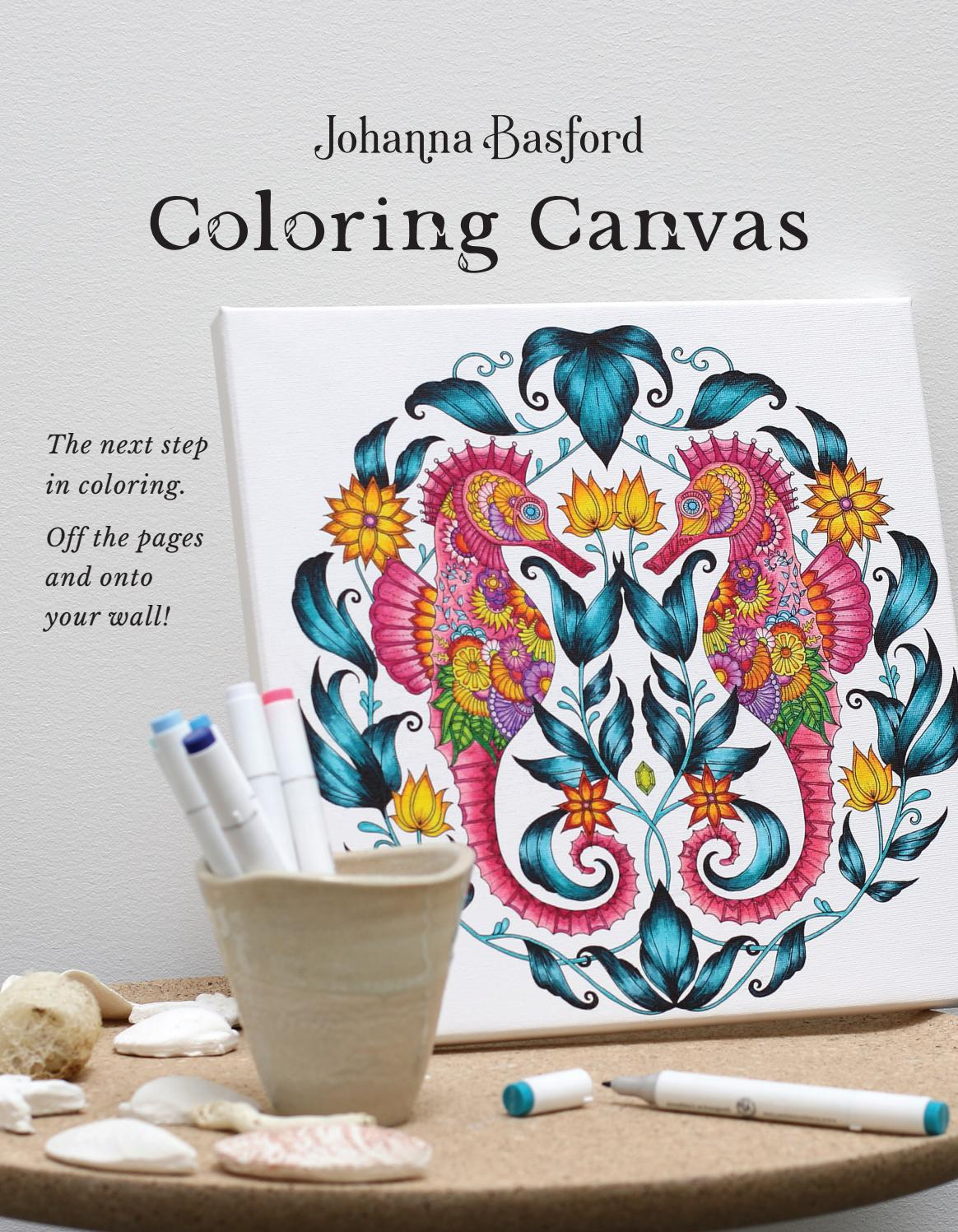 Johanna Basford Coloring Canvas guide by MacPherson\'s - issuu