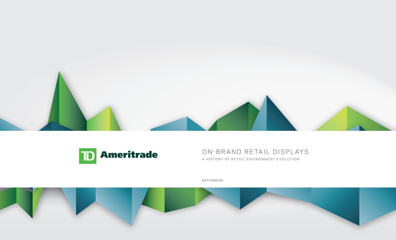 TD Ameritrade Retail Compendium by HOK Experience Design - issuu