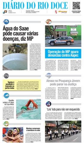 7a335393399 Diário do Rio Doce - Edição de 10 08 2016 by Diário do Rio Doce - issuu
