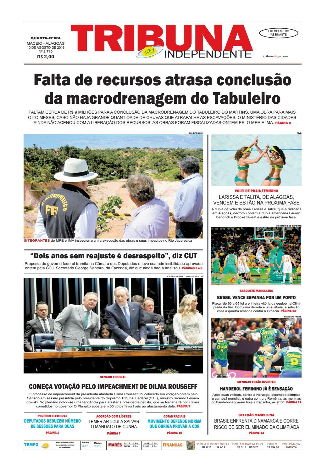 Edição número 2710 - 10 de agosto de 2016 by Tribuna Hoje - issuu 02c283983e
