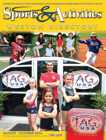 Weston Sports Activities Directory By Sports Activities