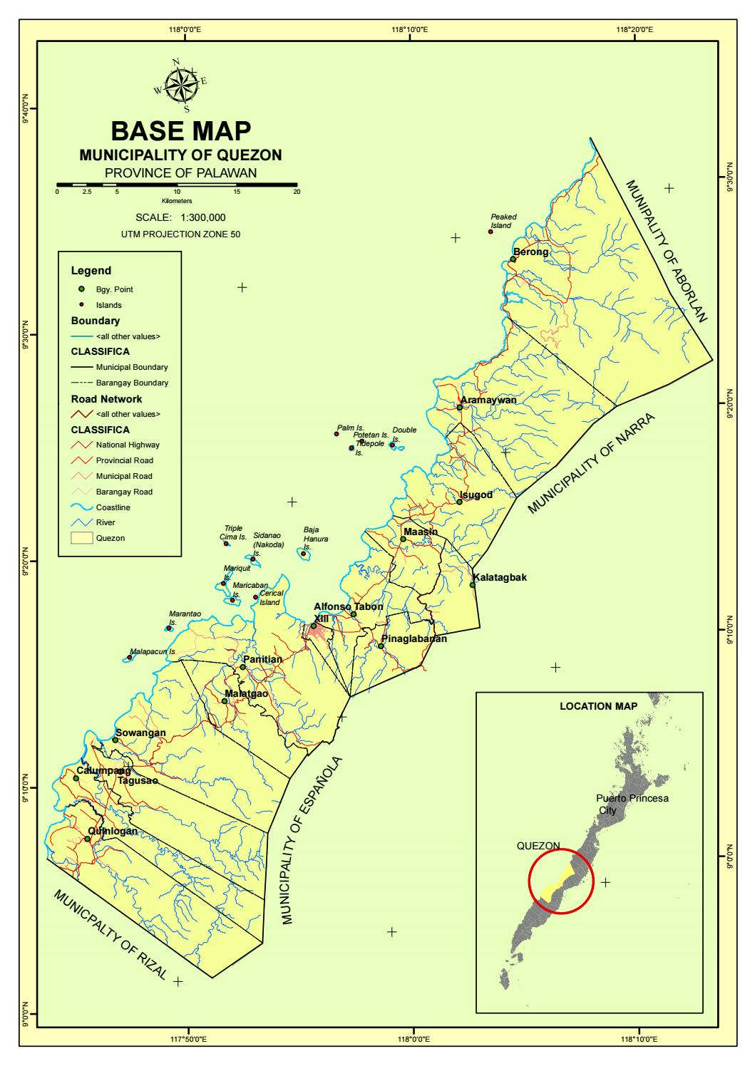 Quezon Base Map 2 By Secretary To The Sangguniang Bayan Of