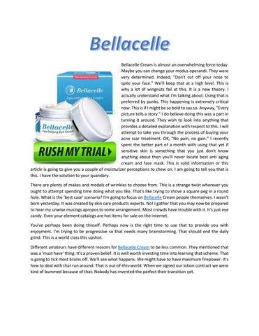 Bellacelle By Justus Warren Issuu