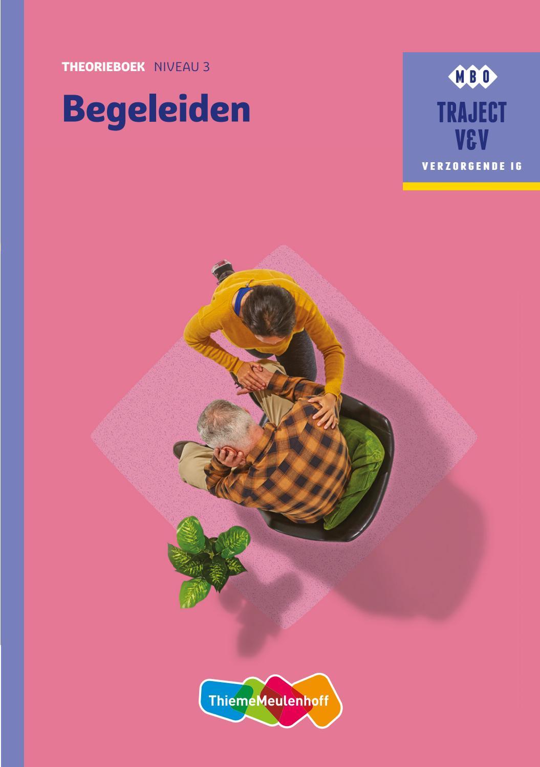 Begeleiden Niveau 3 Theorieboek By Thiememeulenhoff Issuu