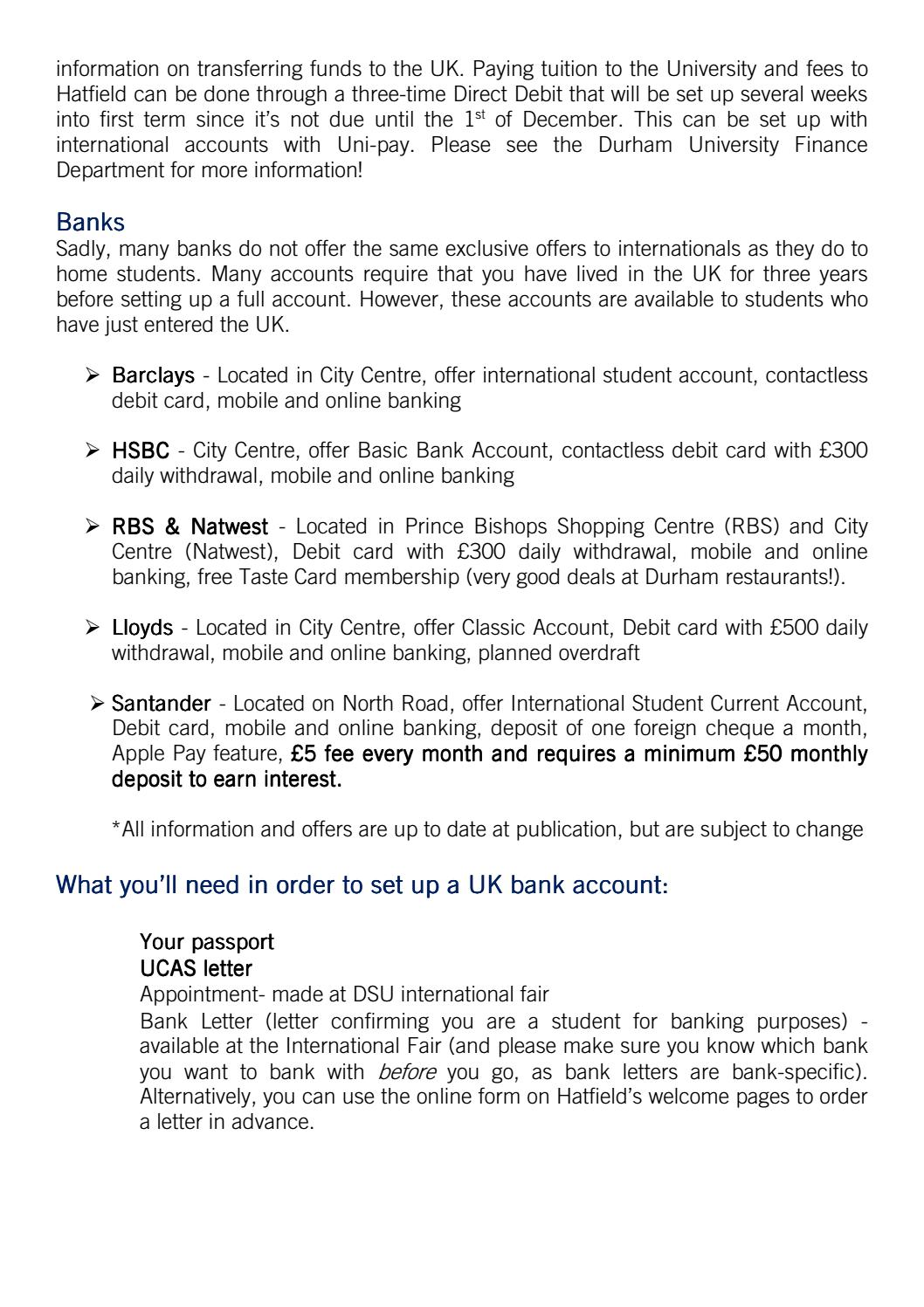 International Bank Account Uk