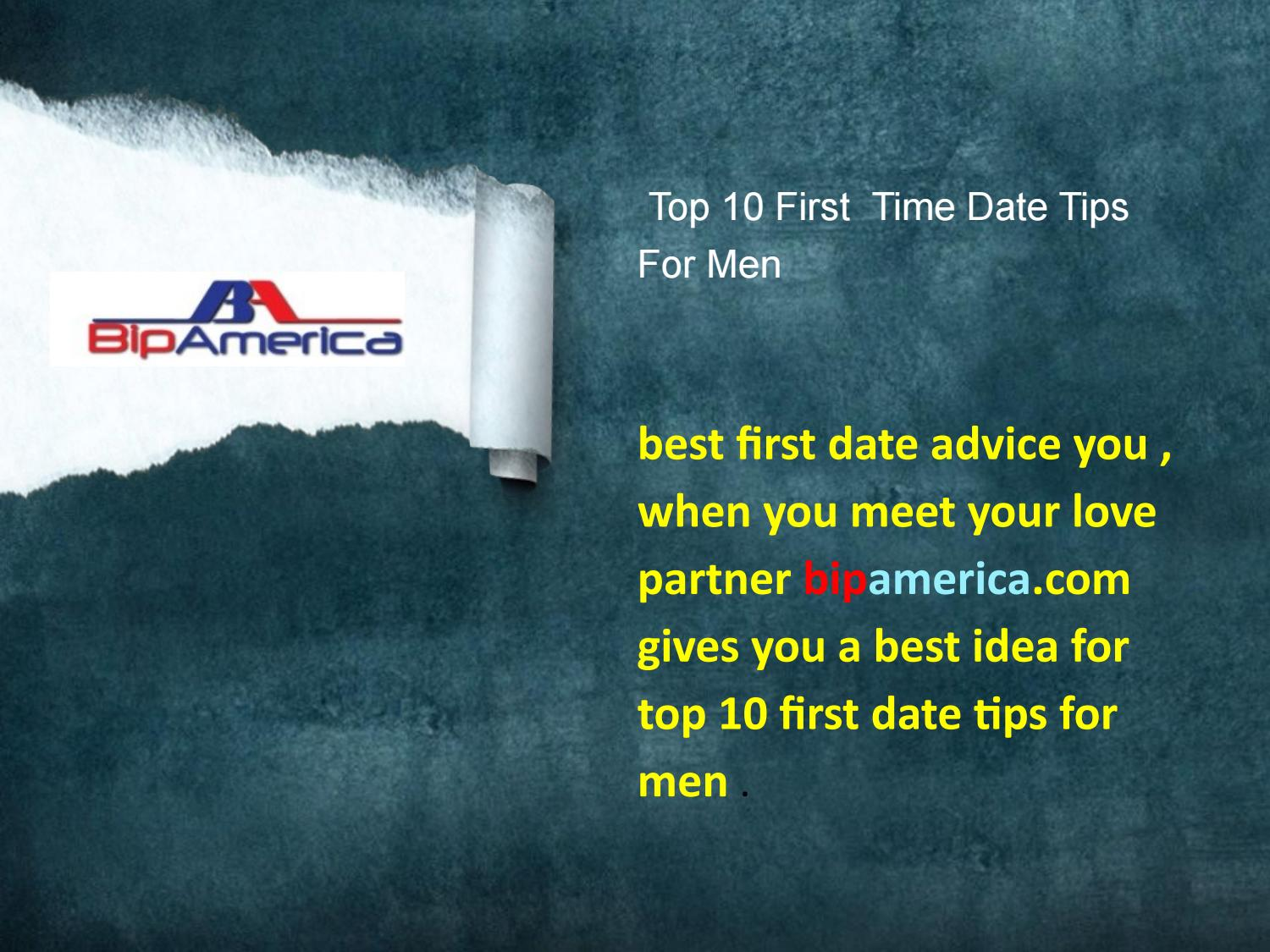 top tips for a first date