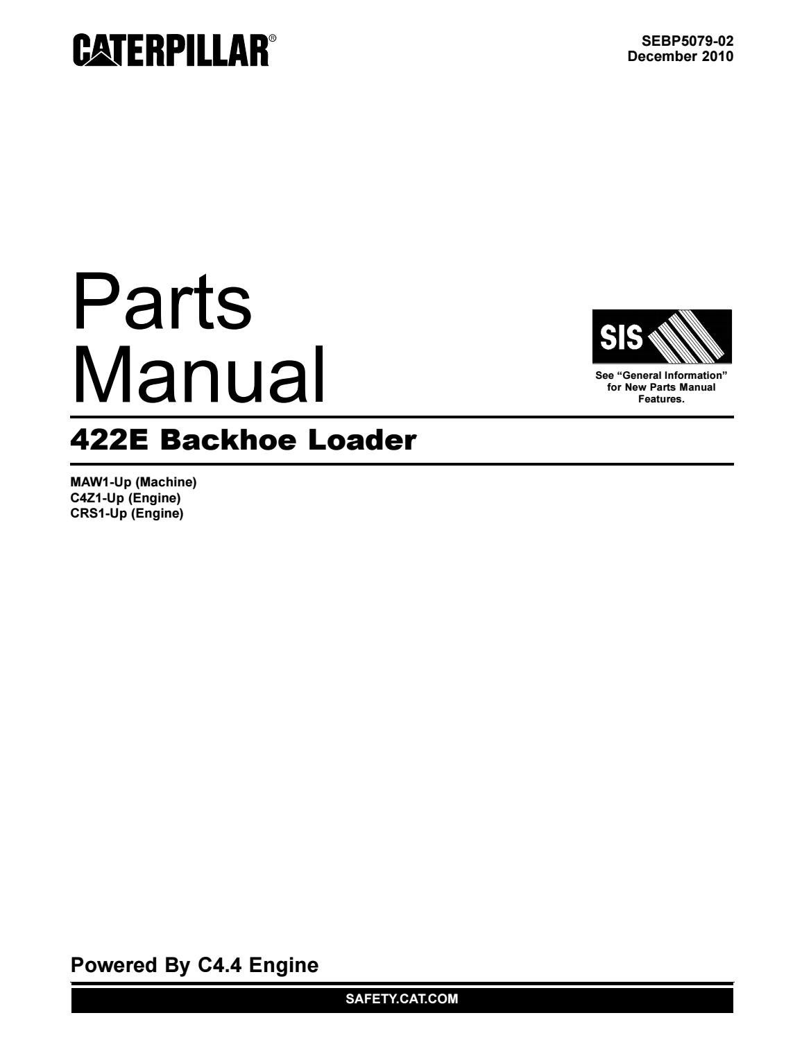 parts manual 422e backhoe loader by ahmadfikry work issuu 3406E Troubleshooting Cat 3406E Specifications
