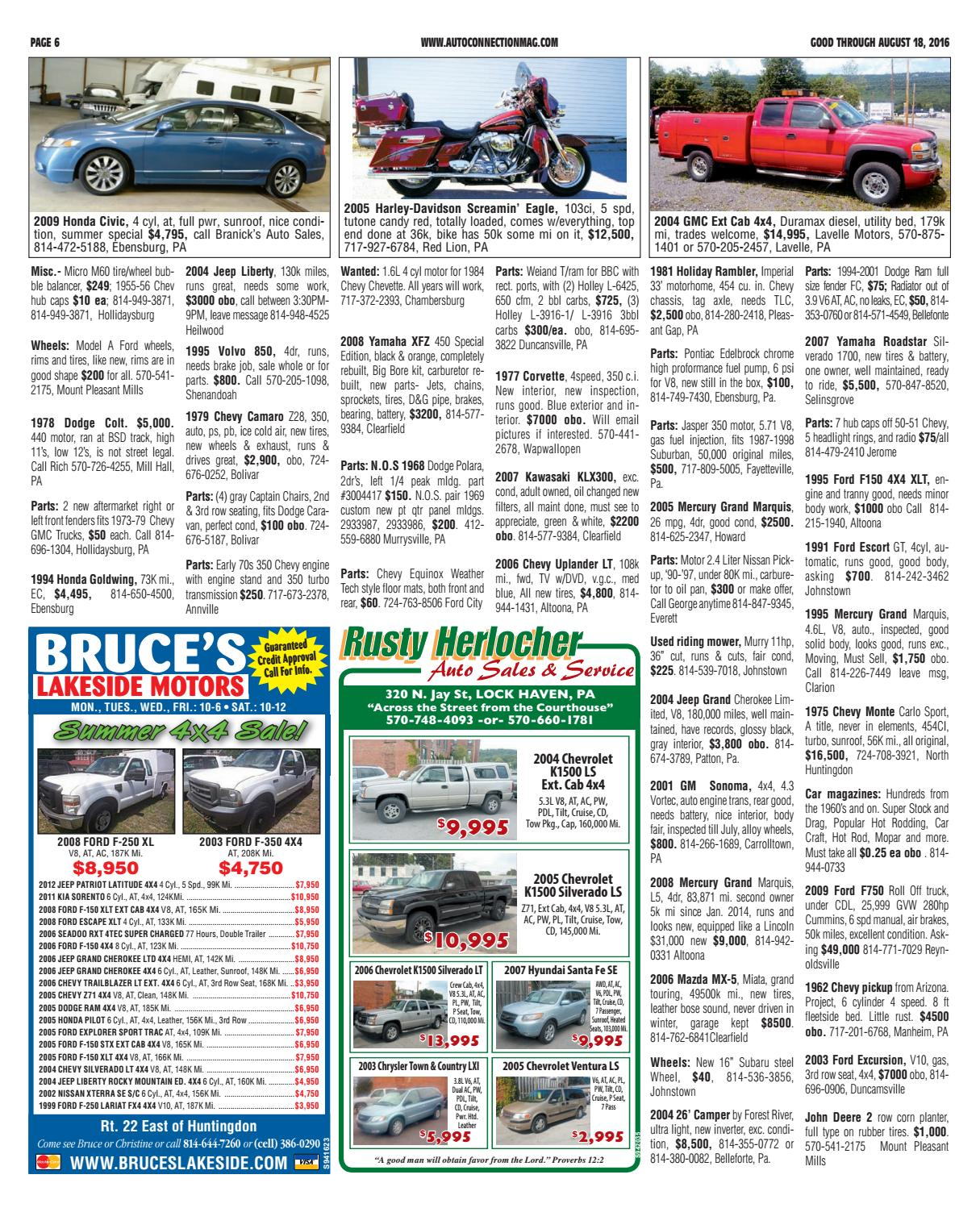 08-18-16 Auto Connection Magazine by Auto Connection