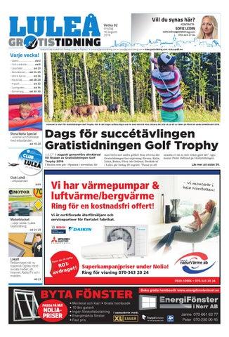 83308a833b8 Luleå Gratistidning by Svenska Civildatalogerna AB - issuu