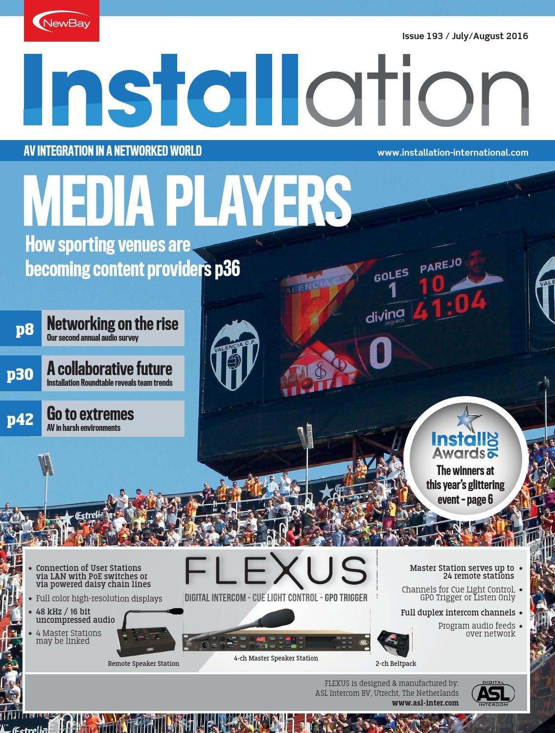 Installation July/August 2016 Digital Edition by Future PLC