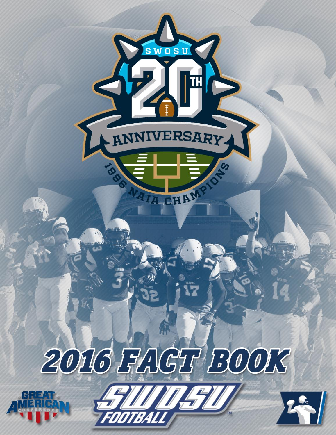 2016 Swosu Football Fact Book By Doug Self Issuu 1987 S10 25l Wiring Forum