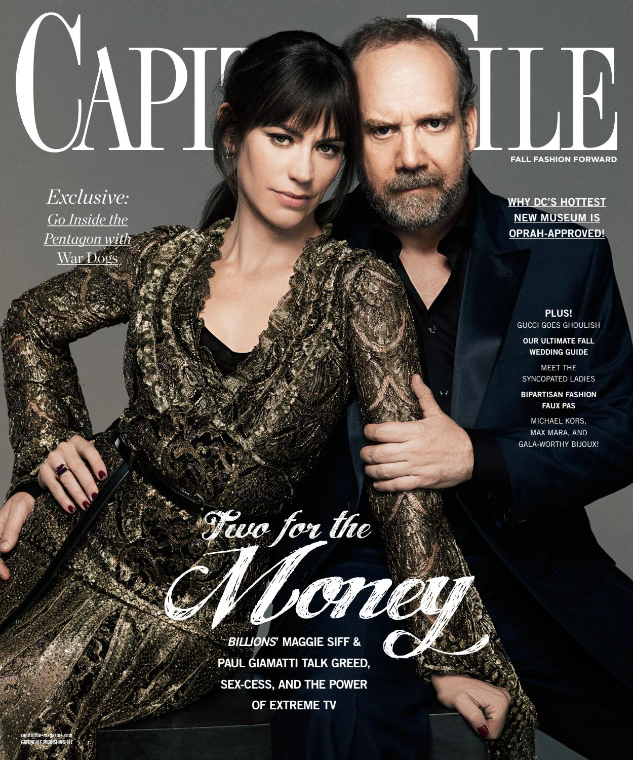 4261044c92b36 Capitol File - 2016 - Issue 4 - Fall - Maggie Siff + Paul Giamatti by  MODERN LUXURY - issuu