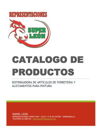 Representaciones Super Leon Catalogo Productos Ferreteria e5c749e9476b