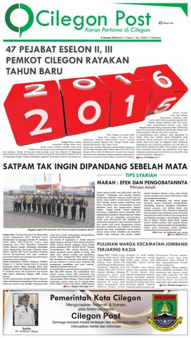 Cilegon Post Edisi 1 By Teratai Media Issuu