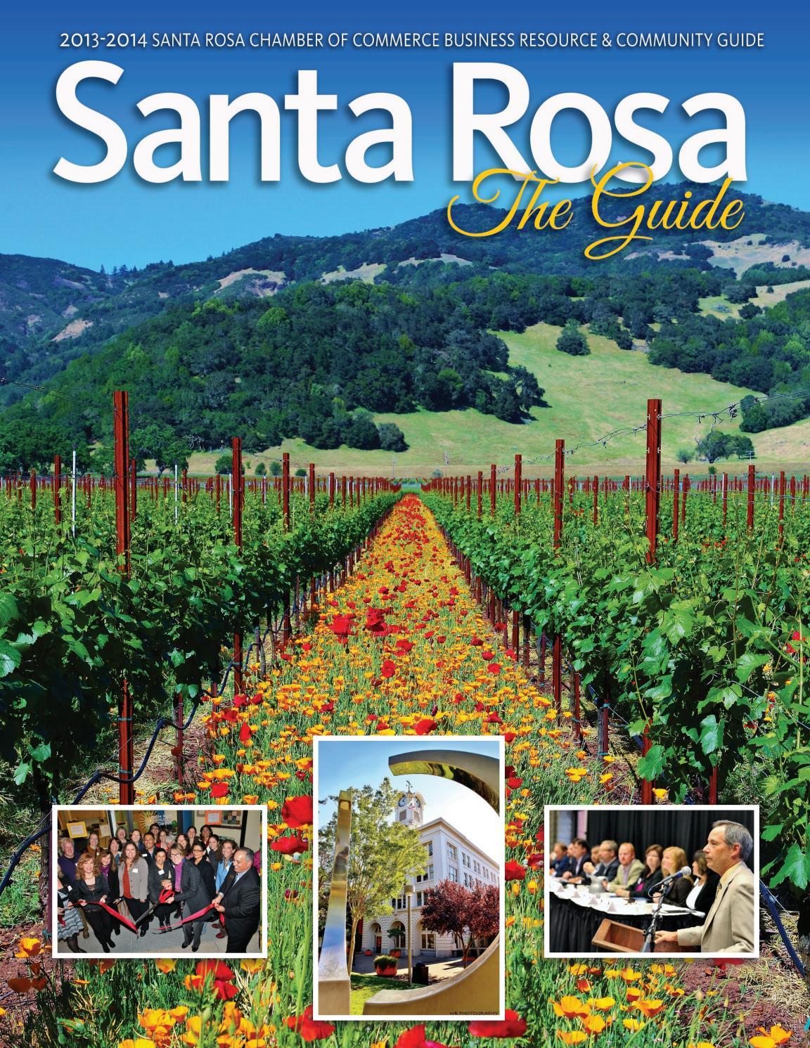 2014 Santa Rosa Chamber Community Resource & Business Guide