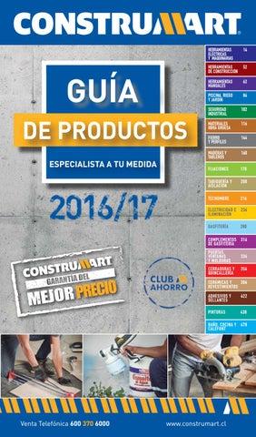 Guía de Productos - Zona 10 by Construmart - issuu 3693fc3164b