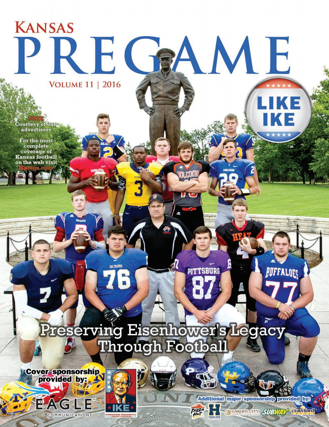 583425f55 Kansas Pregame Football Preview 2016 by Sixteen 60 Publishing Co. - issuu