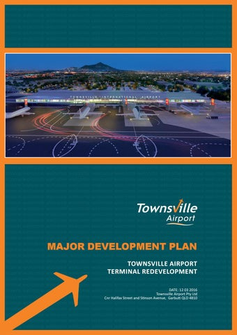 Townsville Airport Major Development Plan March 2016 By