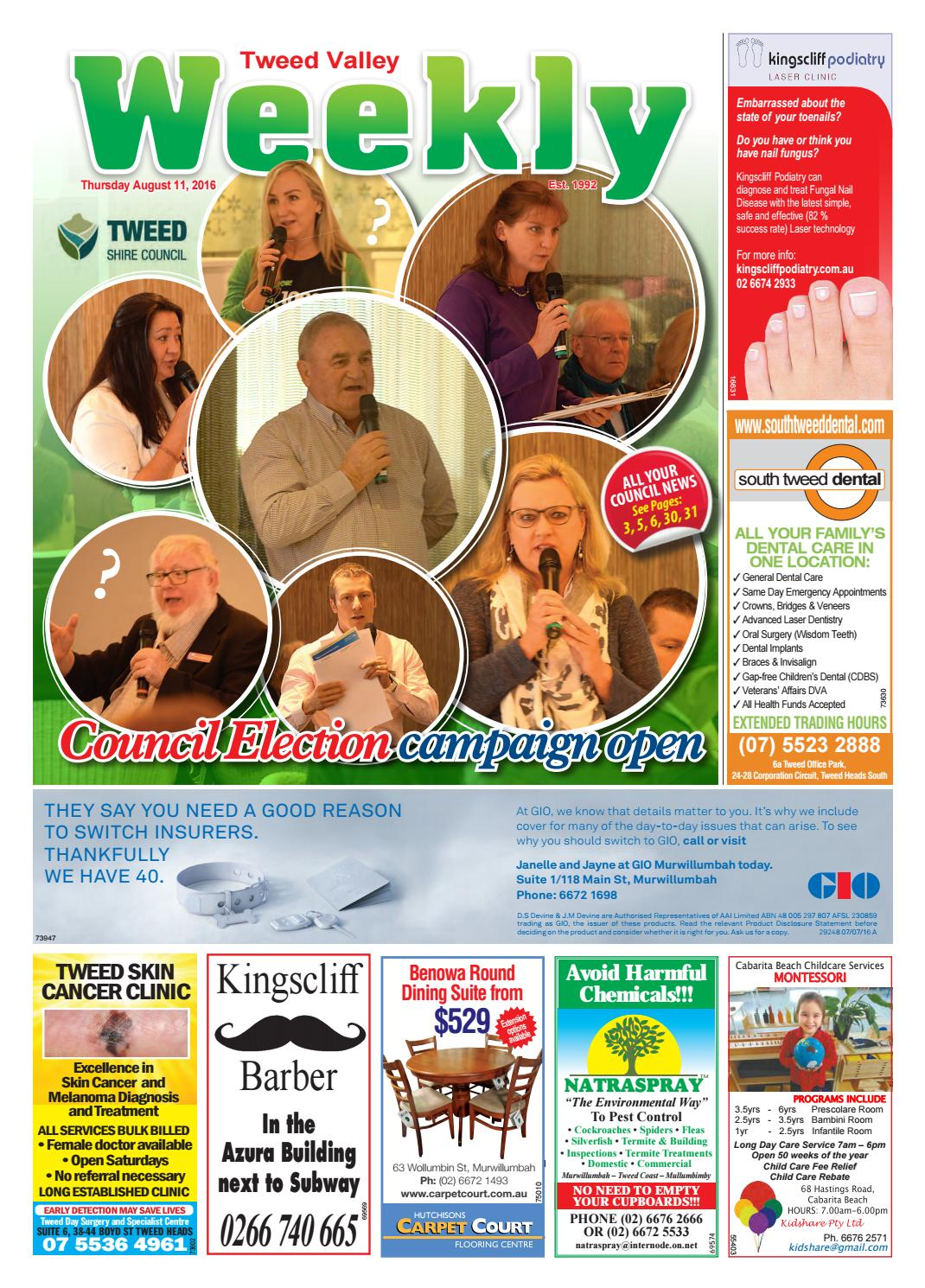 tweed valley weekly aug 11 full edition by tweed valley weekly issuu rh issuu com
