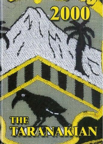 2000 Taranakian by New Plymouth Boys' High School - issuu