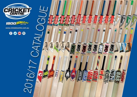 a22c0cab124422 Greg Chappell 2016 17 Player   Club Catalogue by Greg Chappell ...