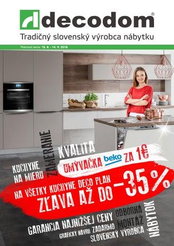 323fad456587 Akciový leták Decodom by Decodom - Slovenský výrobca nábytku - issuu