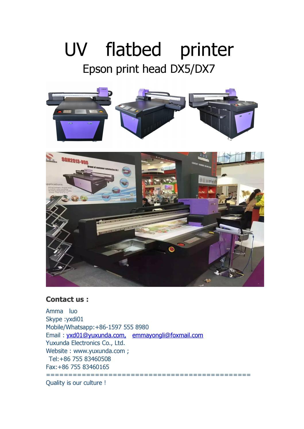 Epson printhaed uv printer by Amma Luo - issuu