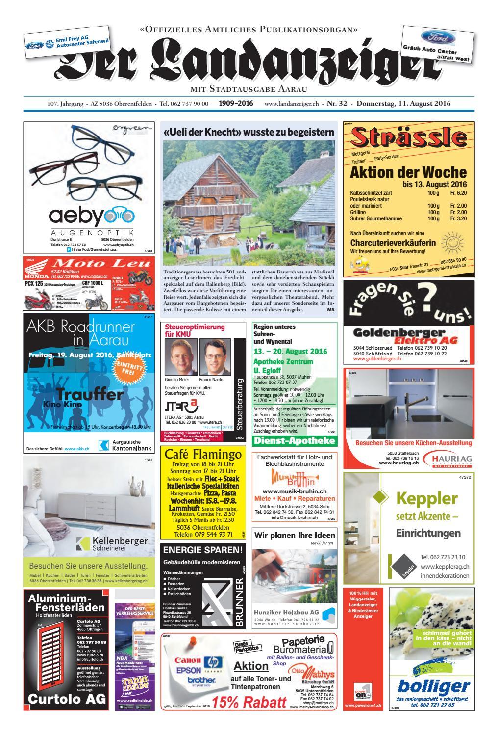 der landanzeiger 32/16 by zt medien ag - issuu, Hause ideen