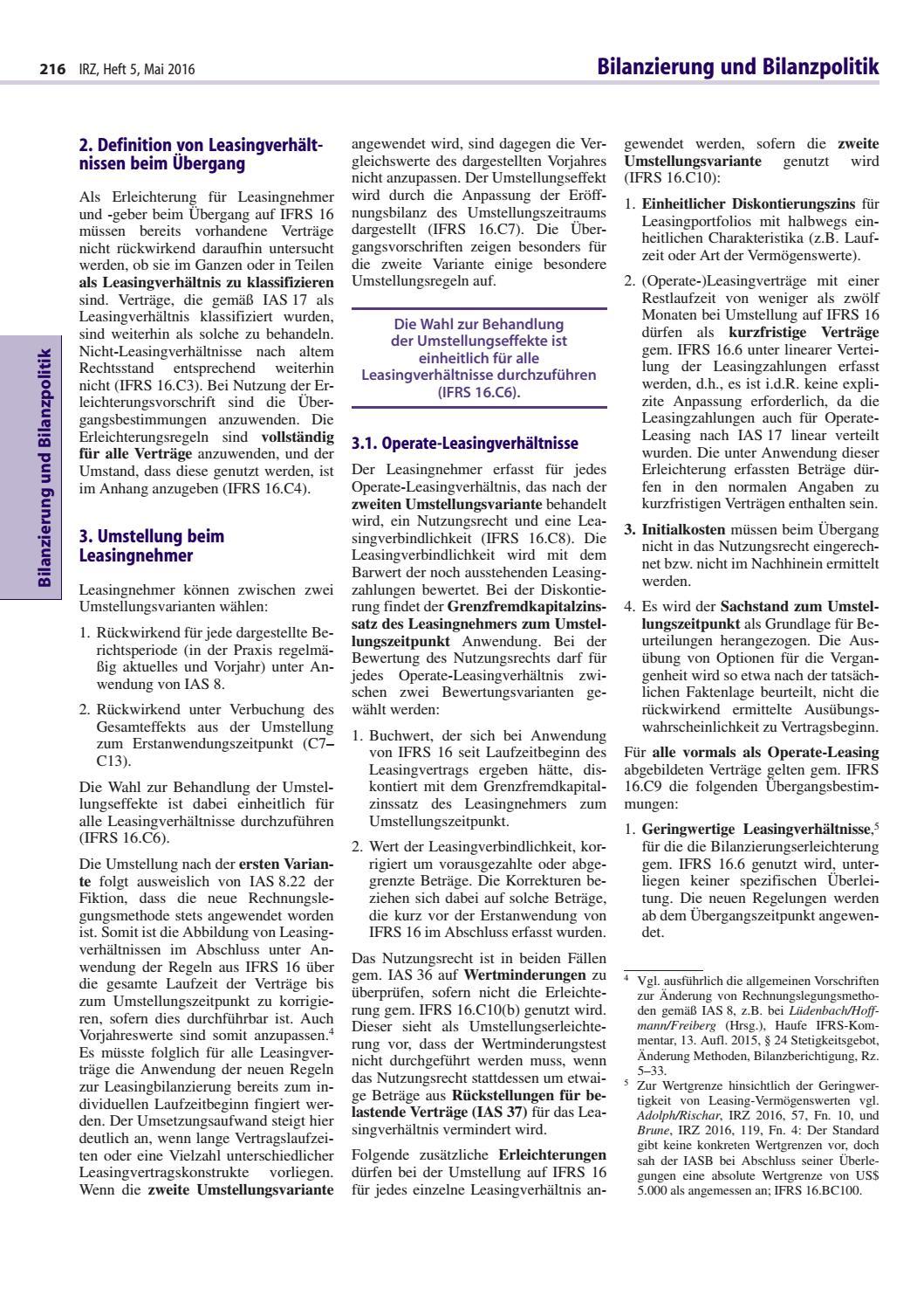 IRZ - Heft 5/2016 by Linde Verlag GmbH - issuu