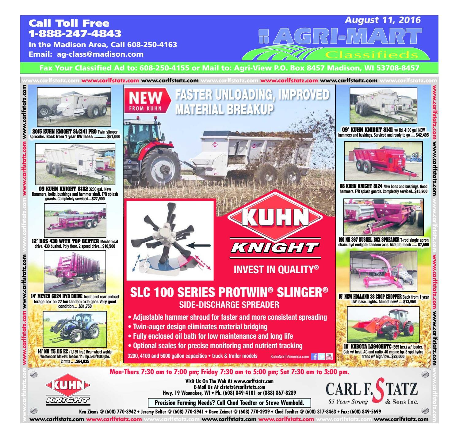 Aug 11, 2016 Agri-Mart by Madison com - issuu
