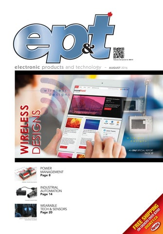 Electronic Products and Technology August 2016 by Annex Business ... ee4d073bfd12c