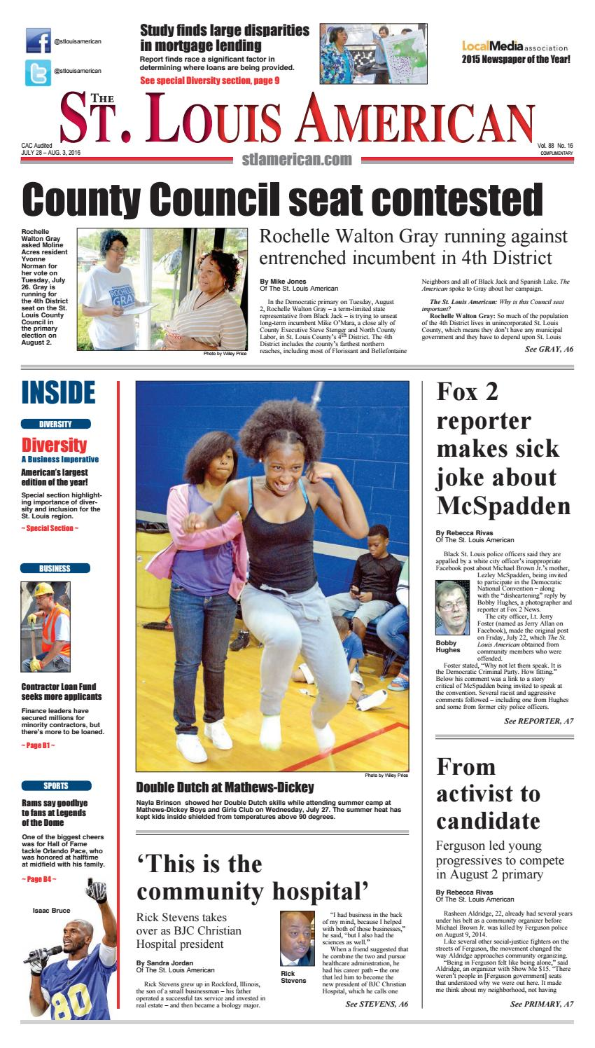 The St  Louis American: July 28, 2016 by St  Louis American