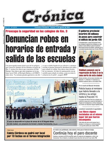 C73c2f29163730c01d04175f97ea9abe by Diario Crónica - issuu 0fb4644250a54