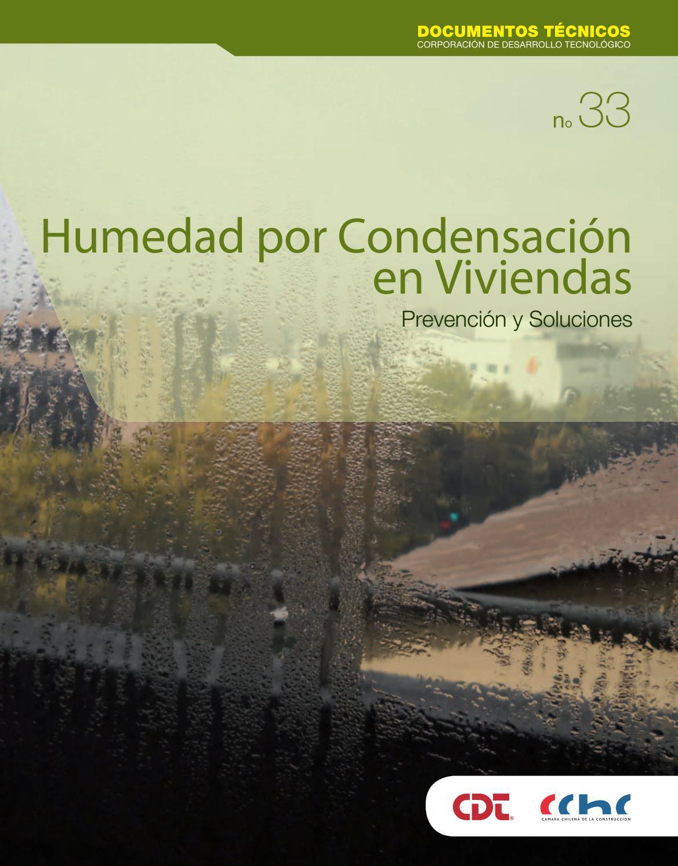Humedad por condensaci n en viviendas prevenci n y soluciones by corporaci n de desarrollo - Como solucionar problemas de condensacion en una vivienda ...