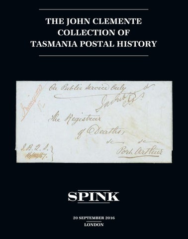 16044 the john clemente collection of tasmania postal history by page 1 solutioingenieria Image collections