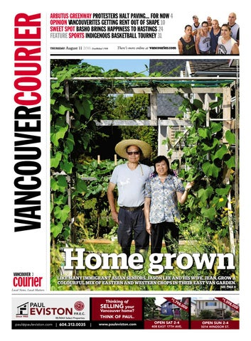 65e2279b011d Vancouver Courier August 11 2016 by Vancouver Courier - issuu